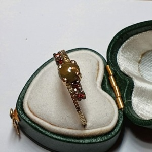 Diamond Autumn Ring